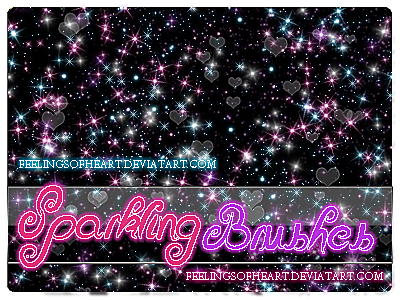 +Sparklig.BRUSHES by FeelingsOfHeart