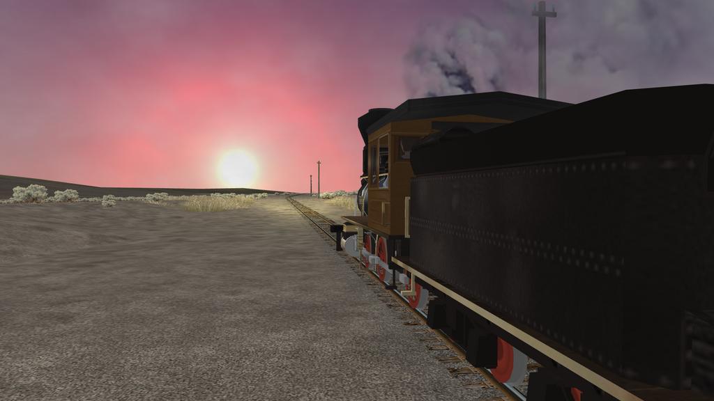 Follow the setting sun by gh22