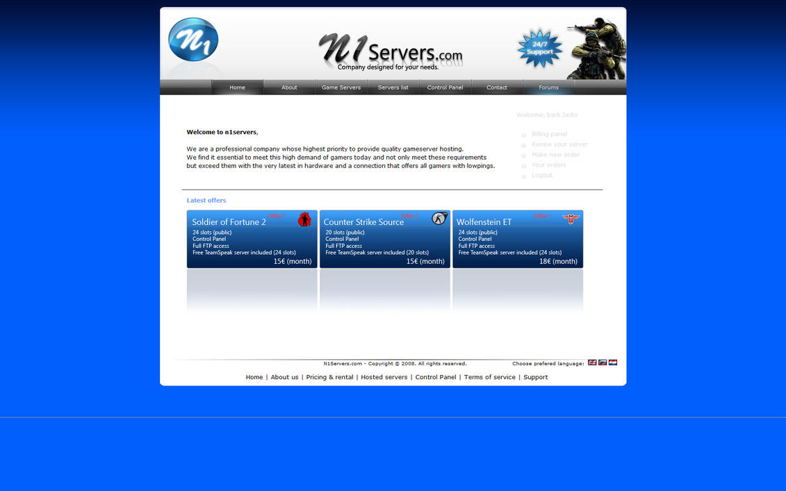 Web Design Hosting Maintenance