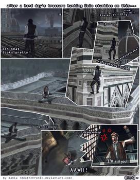 assassins creed comic ezio