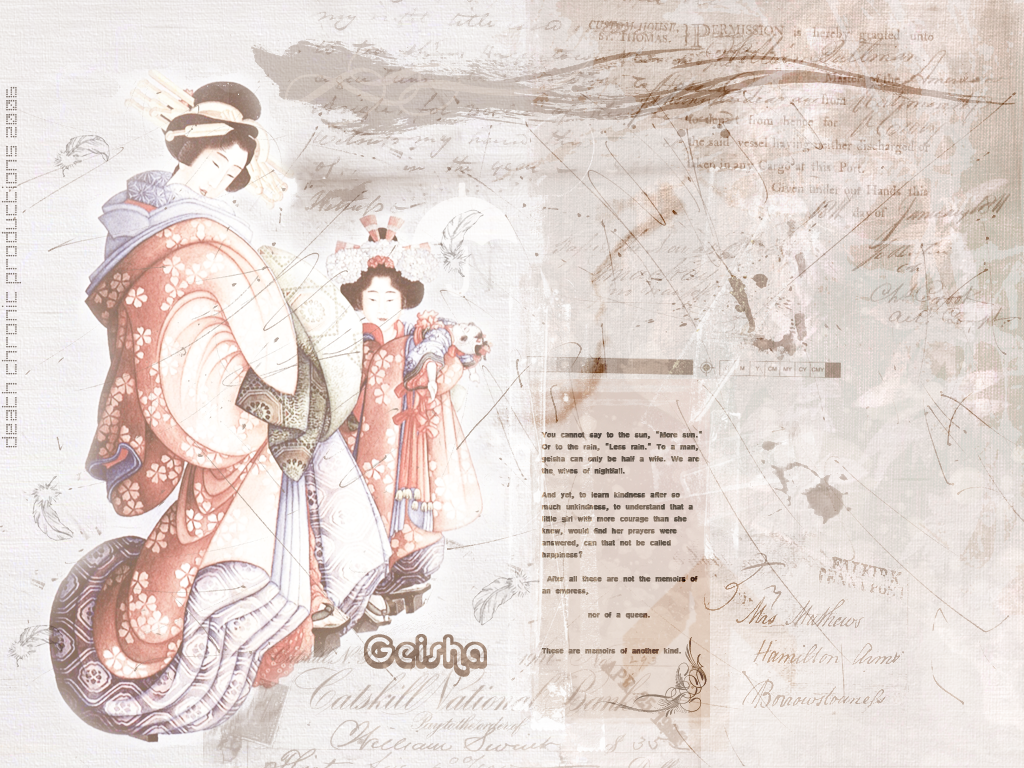 geisha by DeathChronic