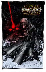 Kylo Ren By Bching plus colors Alxelder by alxelder