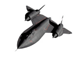 SR71 blackbird vector by freelance001artist