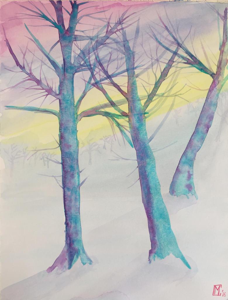 Winter woods by skylar76