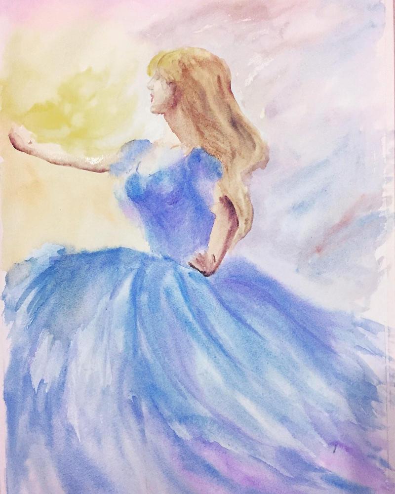 The blue dress by skylar76