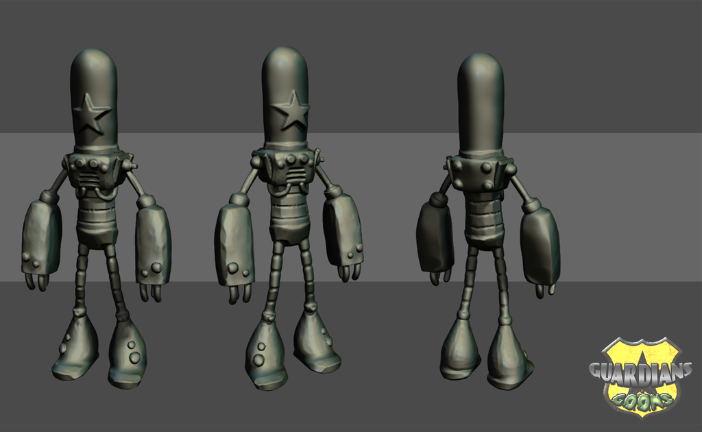 Guard Bot - WIP by enginecogs