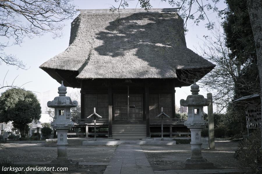 Yakushido of Kokubunji temple II by larksgar