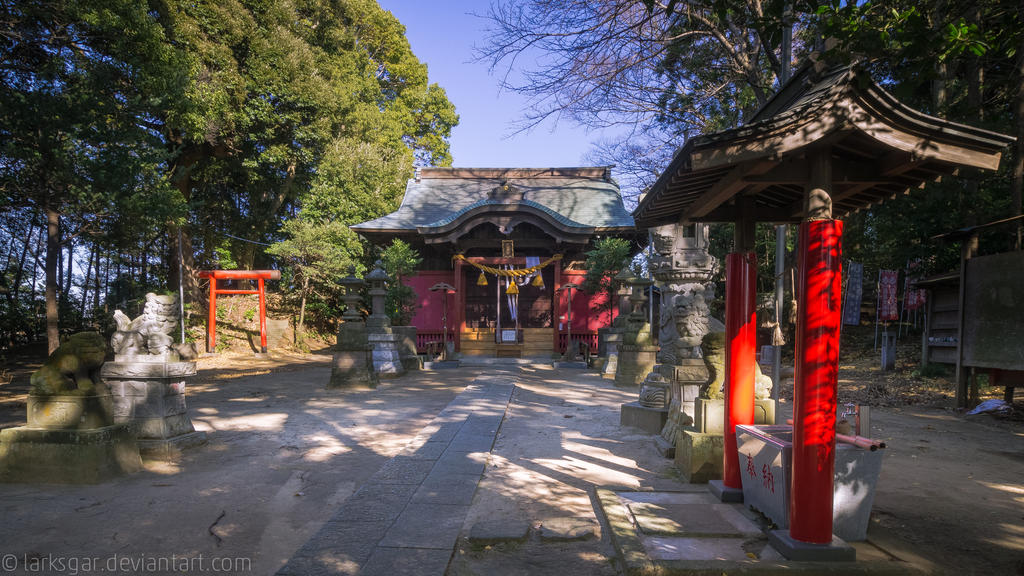 Into the shrine by larksgar