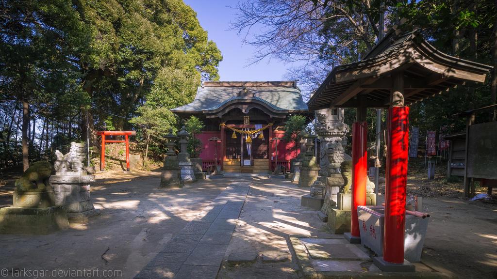 Into the shrine by larksgar