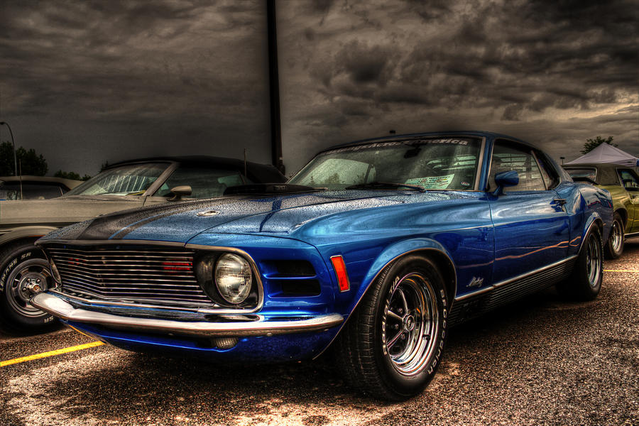 HDR Tutorial 1970 Ford Mustang ColorEFEX