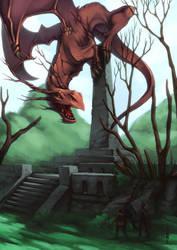 Kakuoji Dragon by Takai-dono