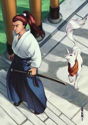 Kitsune partner by Takai-dono
