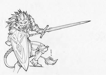 Lion heart - Inktober by Takai-dono