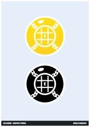 Sea Demon - Graphic Symbol