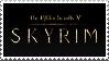 Skyrim stamp by AcraViolet
