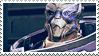 Garrus stamp by AcraViolet