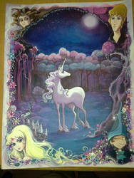 The Last Unicorn by KupKake666
