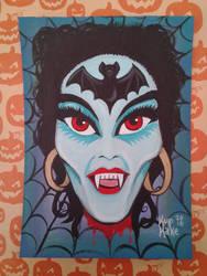 Vampire Mask - Hairy Scary by KupKake666