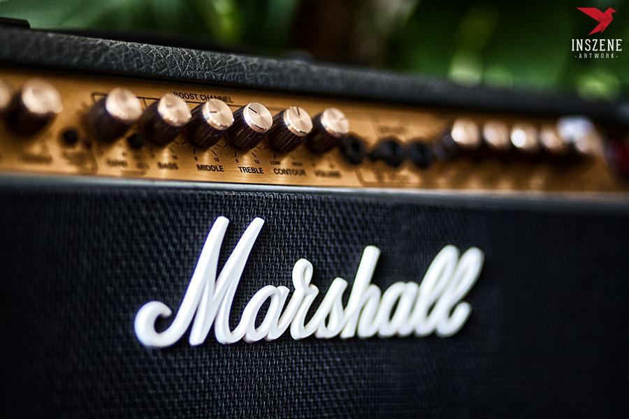 Marshall Amp by sixhundredsixty