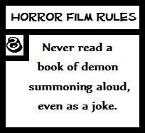 Horror Film Rules 8 by kilala30144