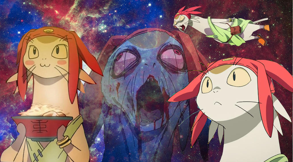 Meow space dandy alternate universes