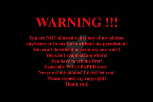 WARNING ! ! !