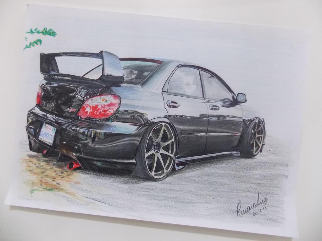 subaru impreza wrx sti 2015 wallpaper hd