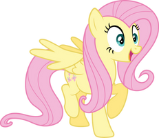 Fluttershy is excited by Vulthuryol00