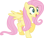 Fluttershy is excited