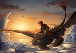 How to train your dragon - fanart