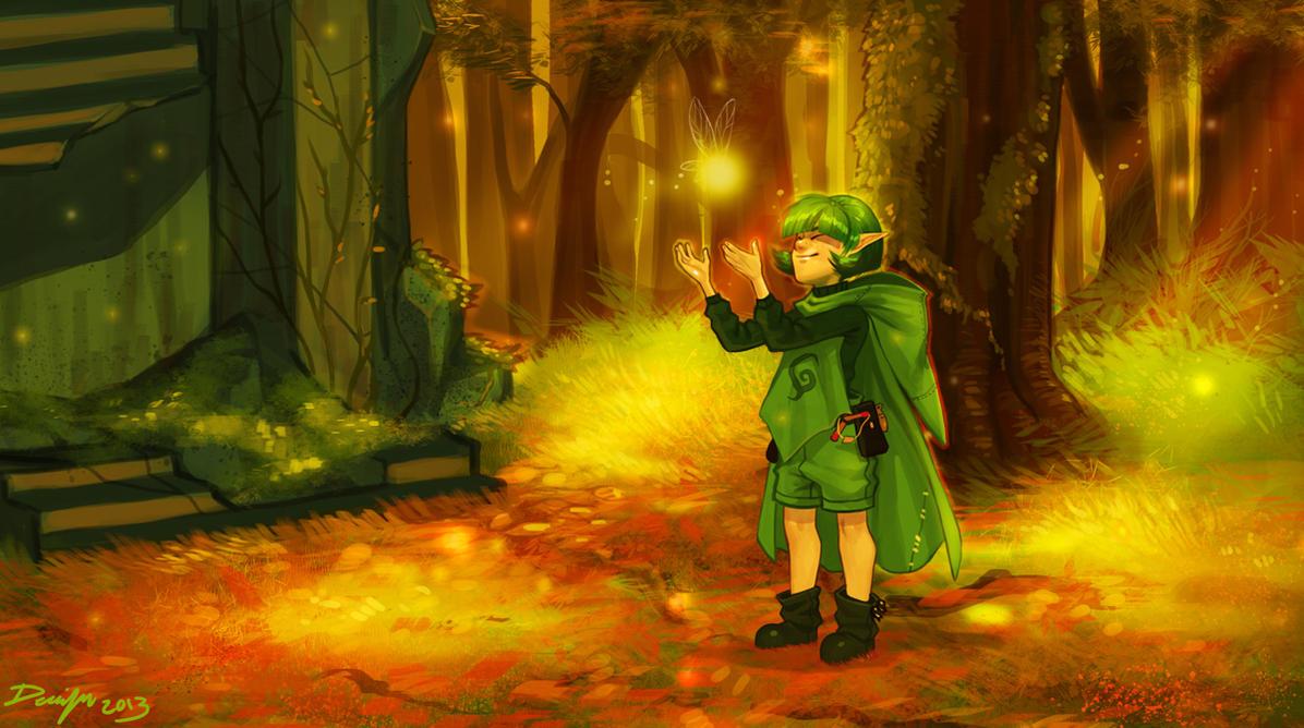LoZ: Forest Of Eternity by Denimecho