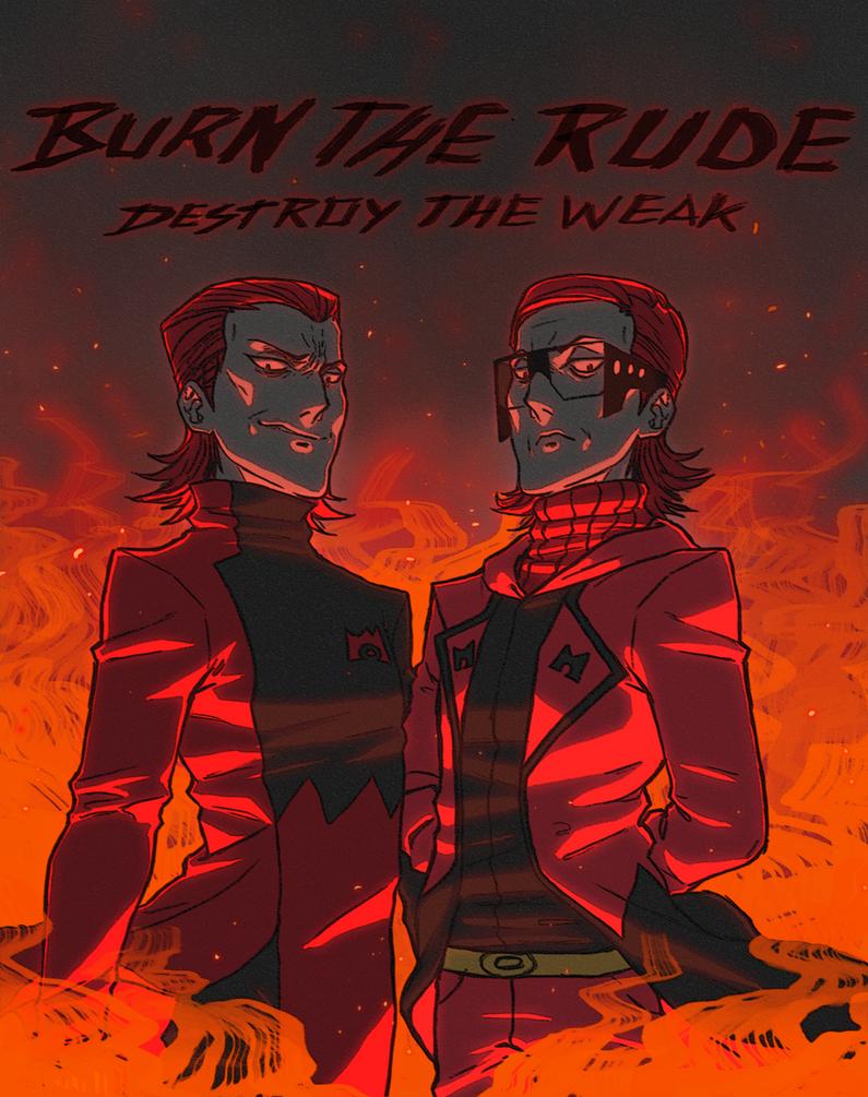 pkmnRSE/ORAS: Burn the rude, destroy the weak. by Denimecho