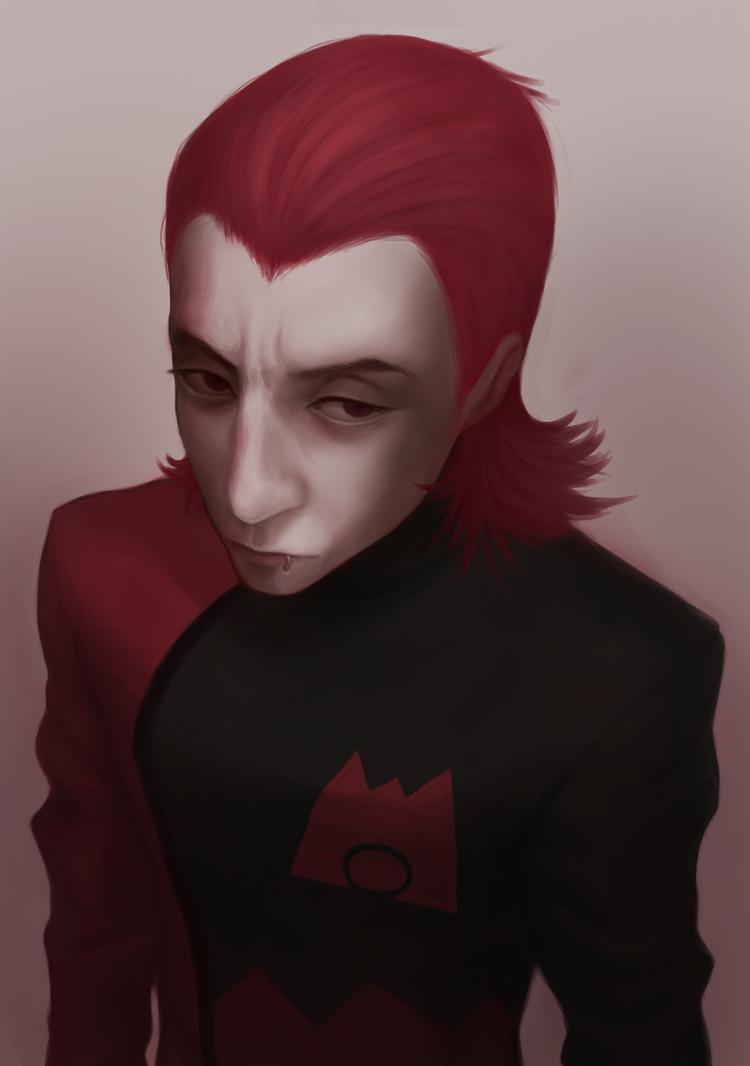 pkmnRSE: Maxwell portrait. by Denimecho
