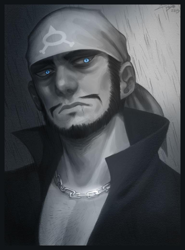 pkmnRSE: Archie portrait. by Denimecho