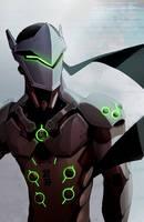 Overwatch: Genji by Denimecho