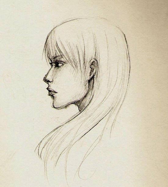 profile sketch practice by shintofuneral on deviantart