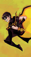 Young Justice Robin by shark-bomb