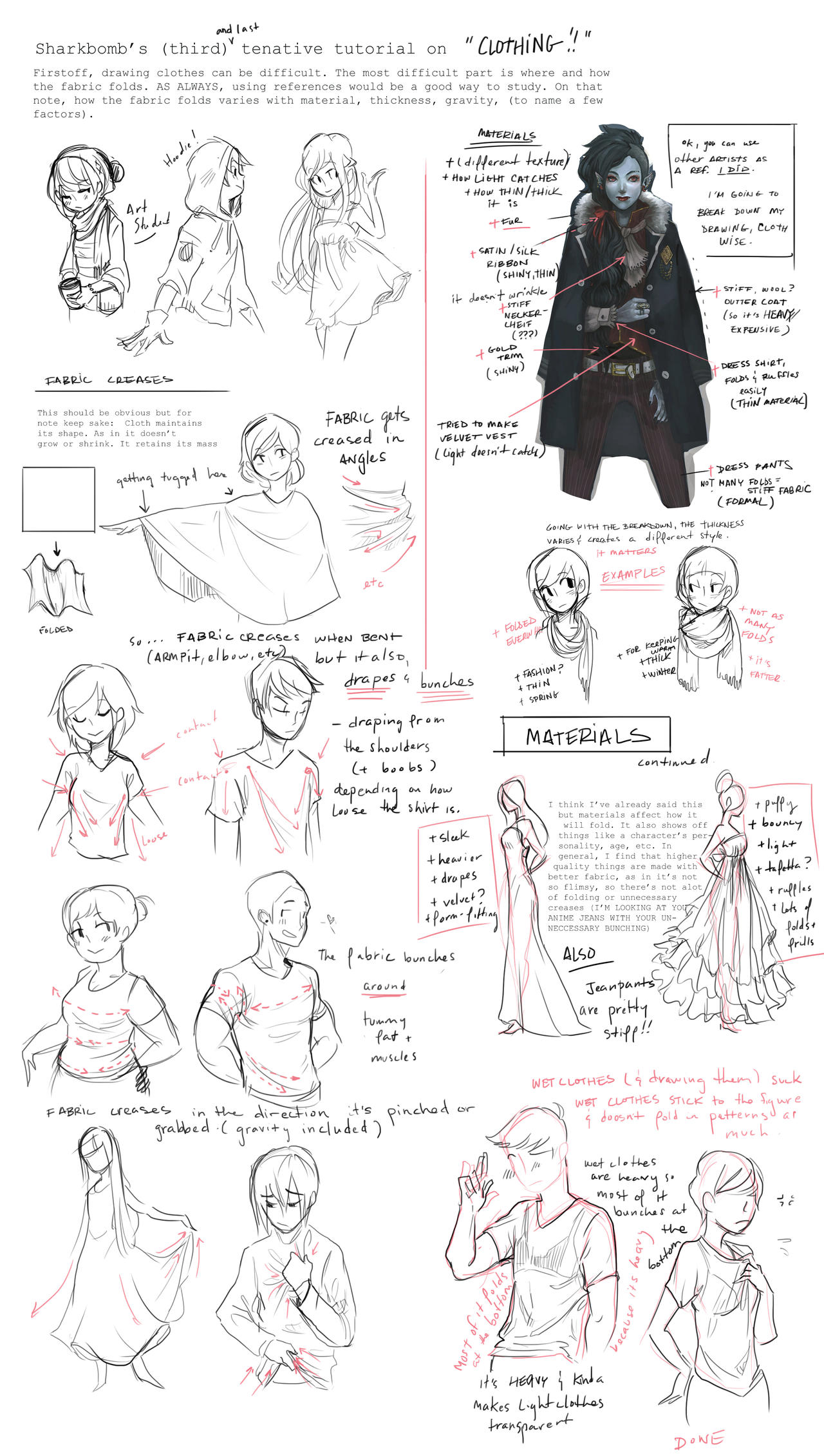 Design Clothes Tutorial Clothing Tutorial Notes by