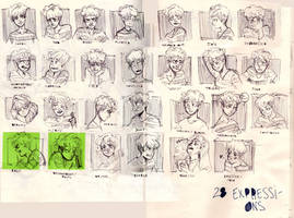 28 Expressions by shark-bomb