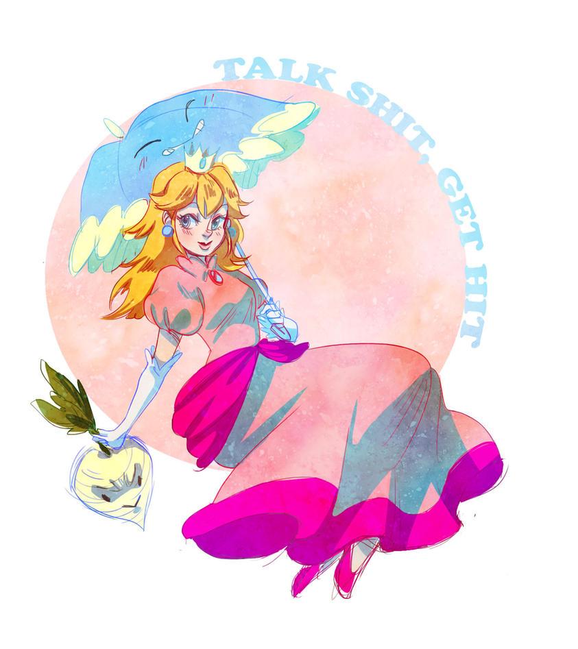 Peach by shark-bomb