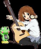 Yui Hirasawa [Render] by HanaRaita