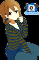 Yui Hirasawa [Render] (7) by HanaRaita