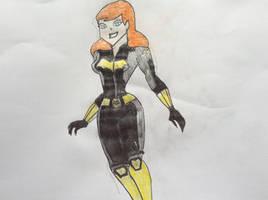 Batgirl (Black Widow Style) by tb86