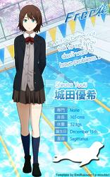 Shirota Yuuki's visual chara sheet