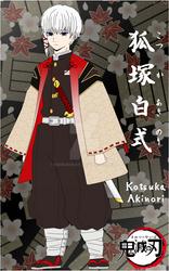 Kotsuka Akinori's visual chara sheet