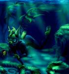Underwater cookie exploration