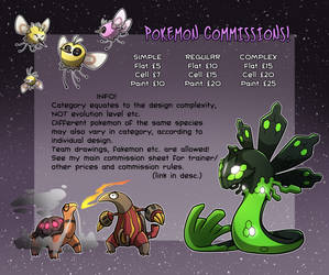 Pokemon Commissions
