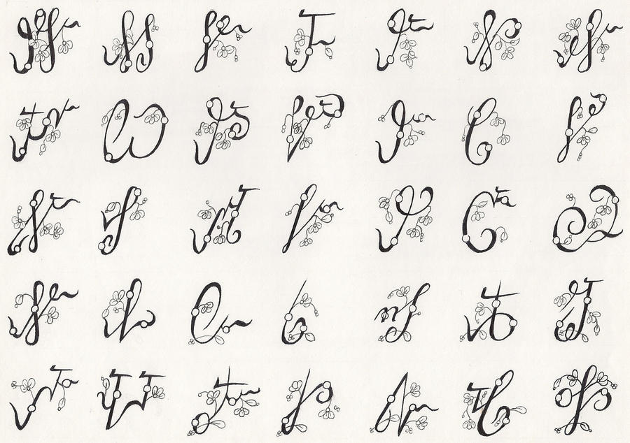 Cherokee Alphabet F 1of3 By Niqaw On Deviantart