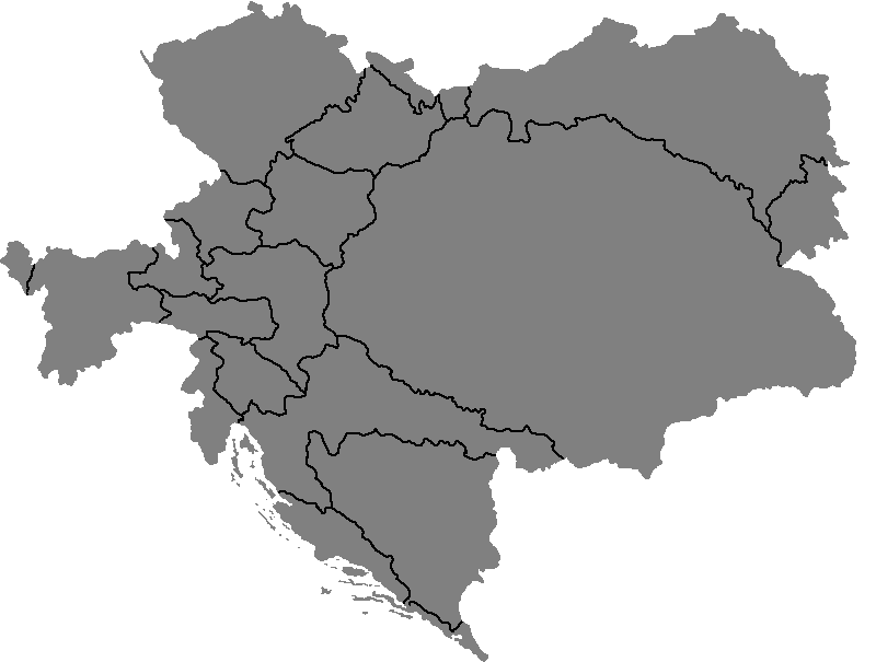 Blank Map Of AustriaHungary By TerrryTerrr On DeviantArt - Hungary blank map