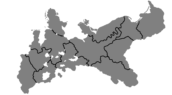 Blank Map Of Prussia By TerrryTerrr On DeviantArt - Hungary blank map